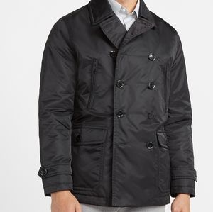 Water resistant double breasted jacket
